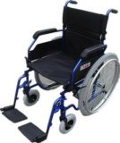 Blue Self Propel Wheel Chair