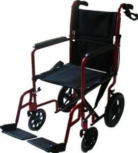 Red Transit Wheelchair
