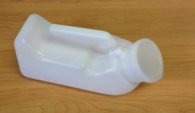 Male urinal bottle